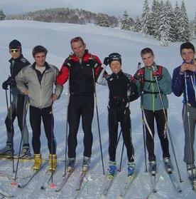 ski de fond dans le Jura