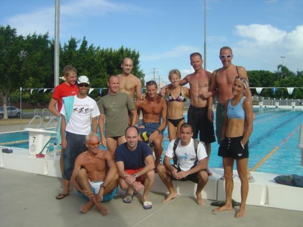 groupe d'entrainement en Australie
