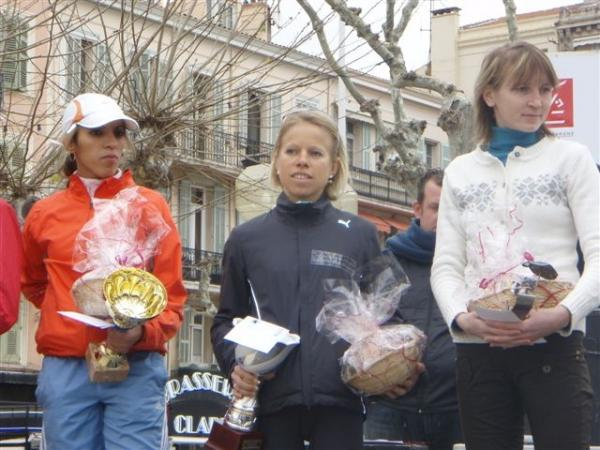 podium 10km Cannes
