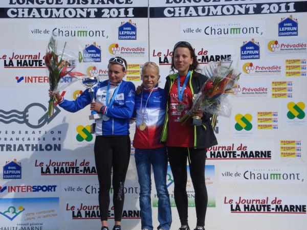 Podium Elite France Duathlon LD 2011