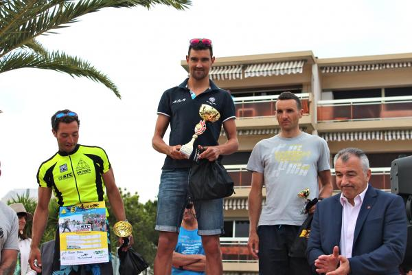 Podium Triathlon M Saint-Laurent du Var 2015