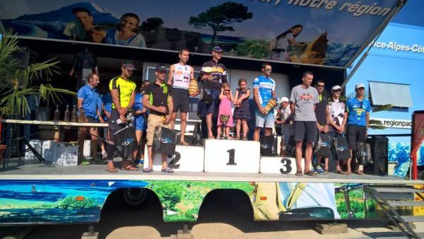 Podium Triathlon L Hyères 2015