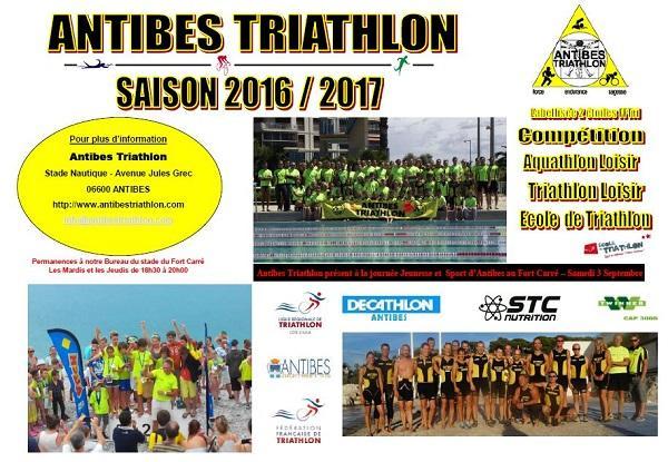 Flyer Antibes Tri 2016-2017