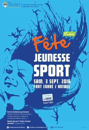 Fête Jeunesse et Sport Antibes 2016
