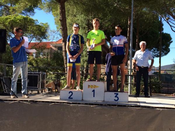Lucas GODIN - Triathlon des Salins 2016