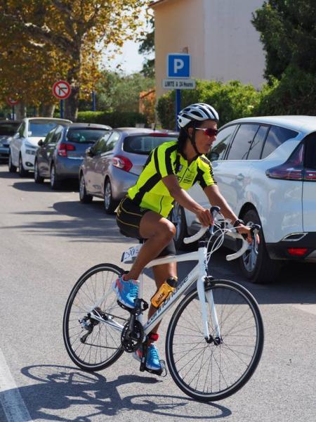 Muriel BALD - Triathlon des Salins 2017