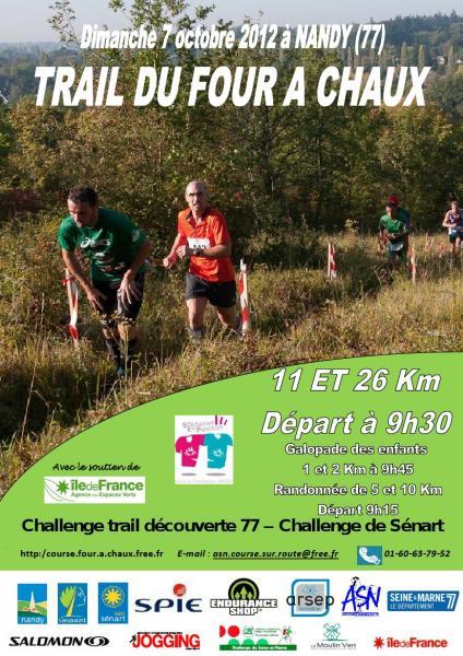 Trail Four à Chaux 2012