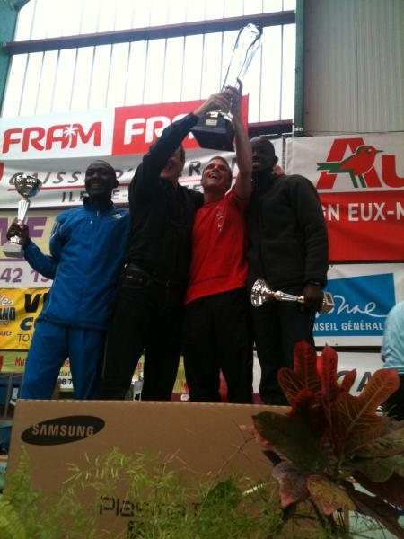 Podium Crosne 2012