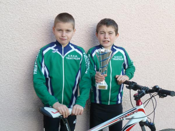 Podium Essonne Run and Bike.