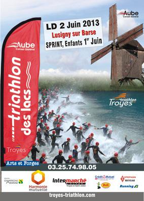 affiche troyes triathlon