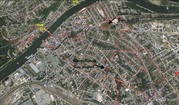 Parcours 10km