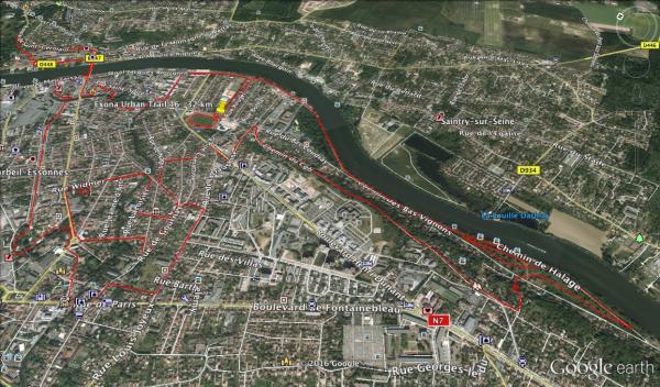 Parcours 16-32km