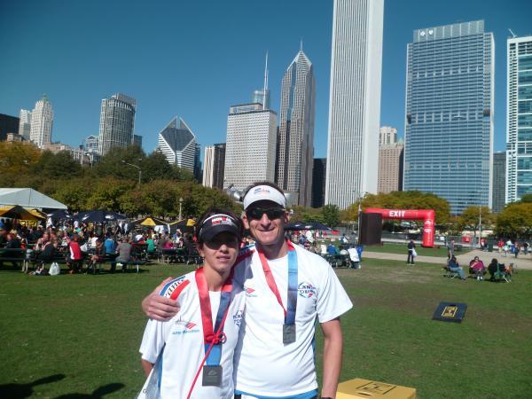 David et Christelle chicago 2013
