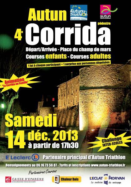 Affiche corrida 2013