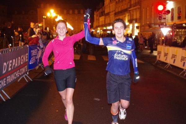 Lucie et Romain corrida 2013