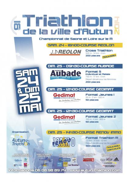triathlon autun 2014