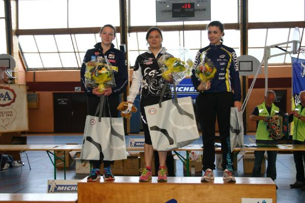 podium sénior F