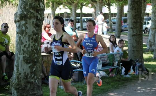 Lucie 1/2 finales championnat de France jeunes