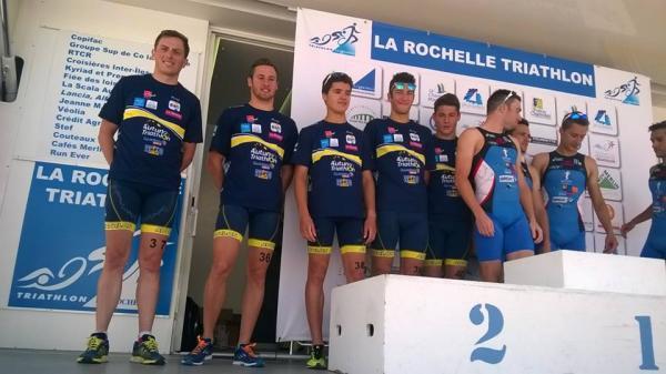 podium D2 LA ROCHELLE