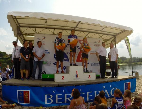 Max podium france aquathlon