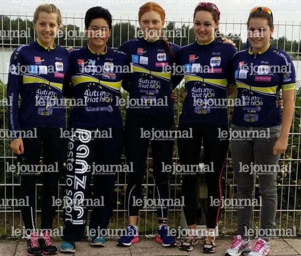 les jeunes féminines de l'équipe de D3