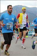 Christophe sur le marathon