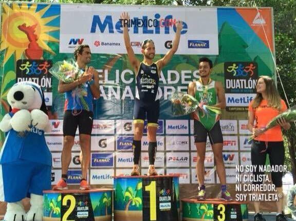 Jose Luis devient champion du Mexique de duathlon sous les couleurs d'AUTUN TRI