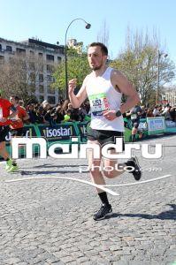 Quentin sur le marathon de PARIS