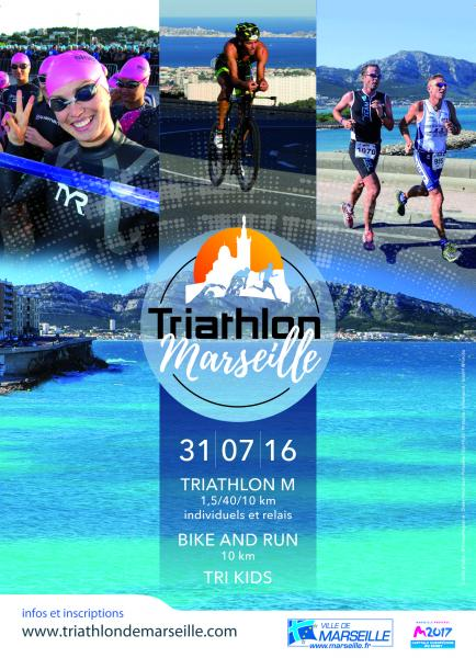 TRIATHLON DE MARSEILLE