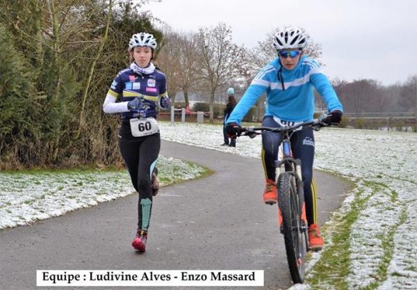 Ludivine et Enzo en route pour leur 3ème place