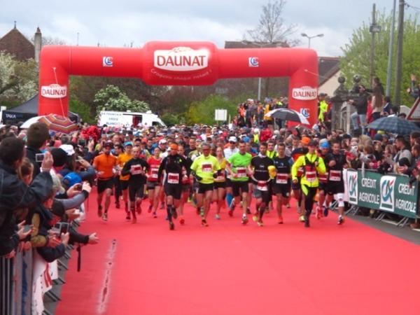 Départ du marathon
