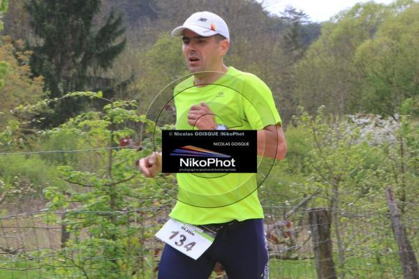 Christophe sur le 10 km