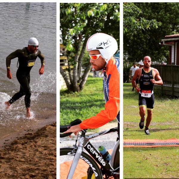 Adrien sur les 3 composantes du triathlon !!!