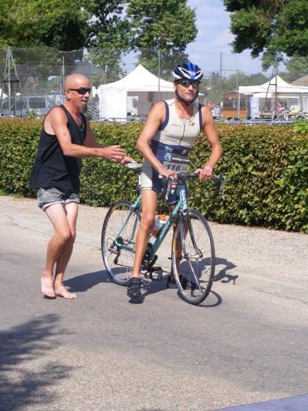 Will au départ du vélo
