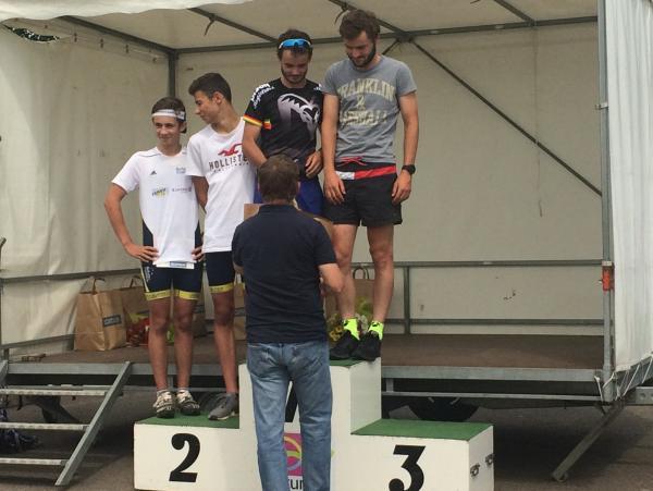 Le podium !!!!