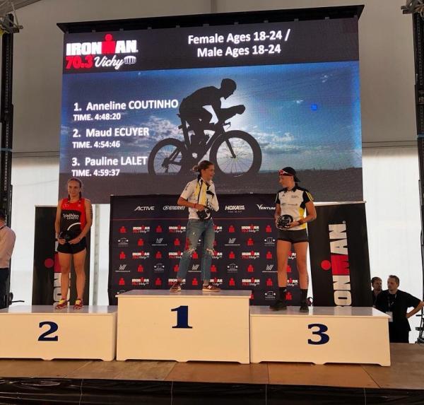 Anneline et Pauline sur le podium !!!