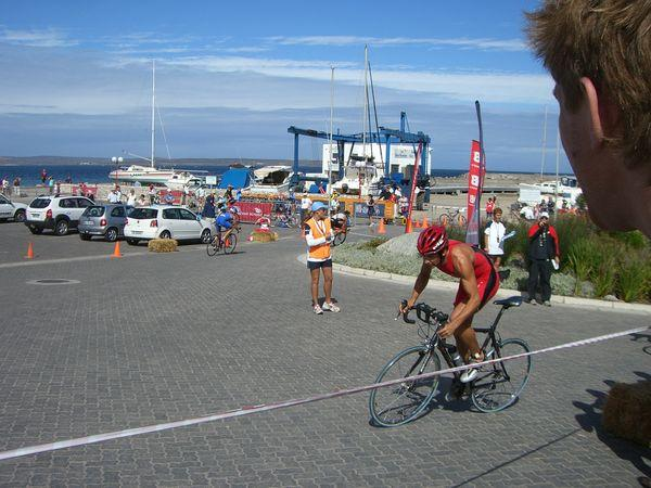 photos de Cyrille à Langebaan RSA