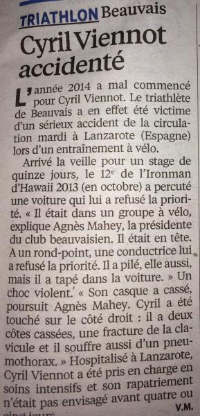 Le Parisien 09 01 14