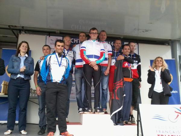 podium gravelines