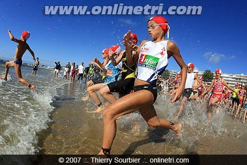 Course avenir au triathlon de la Baule
