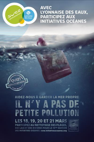 Affiche IO / Lyonnaise des Eaux