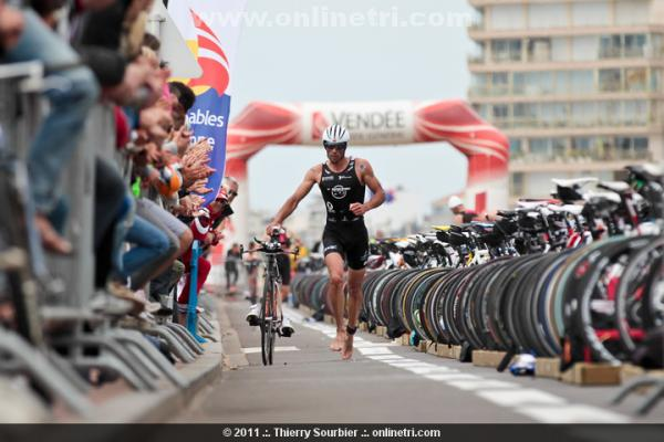Triathlon des Sables d'Olonne 2011