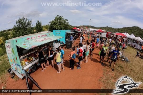 Ambiance Triathlon du Salagou