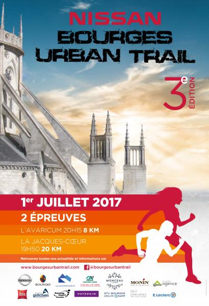 Bourges urban trail 2017