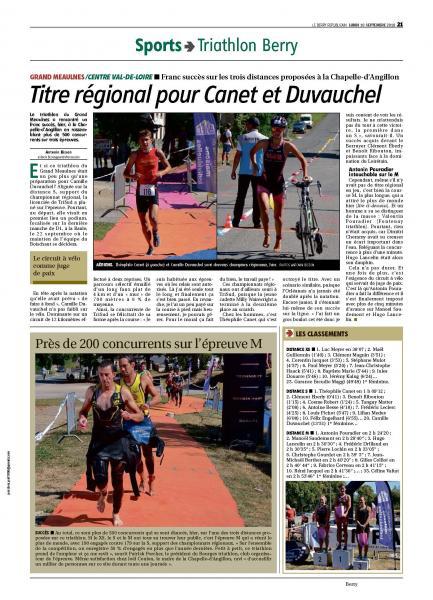 2018 Le Triathlon du Grand Meaulnes