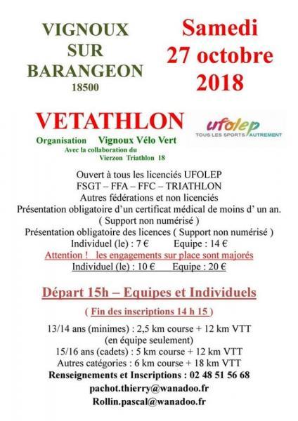 Vetathlon Vignoux