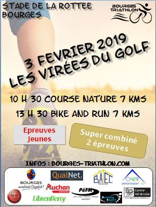 Affiche Virées golf 2019