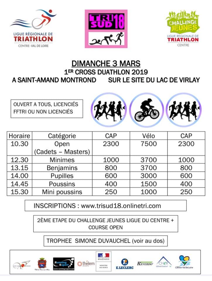 Cross Duathlon Virlay 2019
