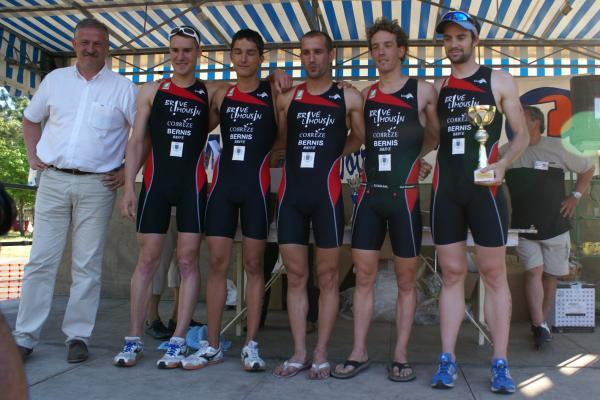Mimizan 2009 _ Victoire équipe BLT