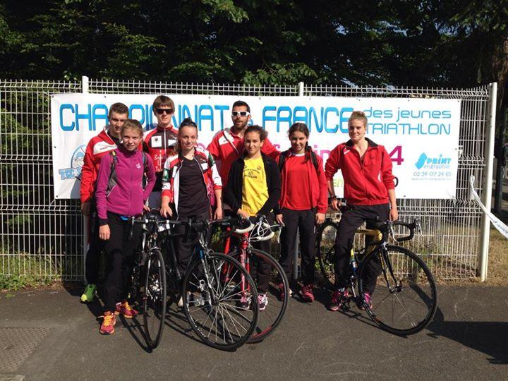 Championnat France Triathlon jeune